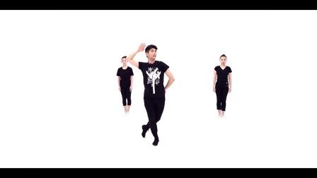 青年舞蹈家邓斌原创作品《我的祖国》动作分解