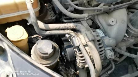 开了快8年里程10万多公里的奇瑞瑞麒G5冷车启动后发动机异响