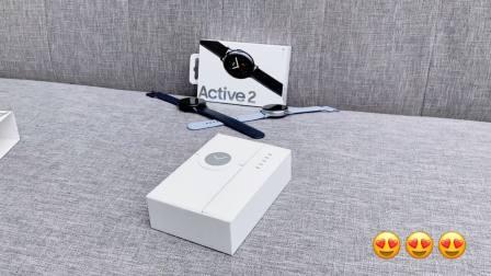 Samsung Galaxy Watch Active2开箱视频