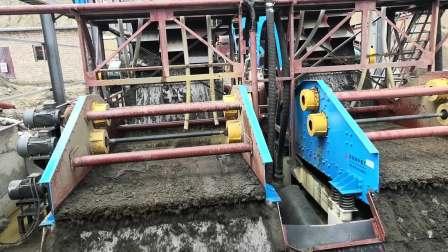 杭州隆中机械洗砂设备-洗沙机械视频|价格|图片|参数