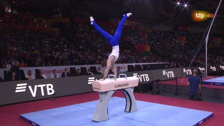 2019年斯图加特体操世锦赛男子团体决赛,中国遗憾摘银