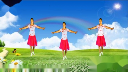 周珍广场舞《爱上草原爱上你》编舞:动动 演绎 制作:周珍