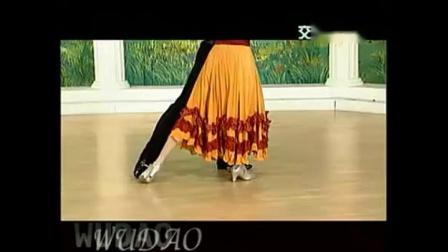 杨艺探戈初级部分第二讲队列弓步