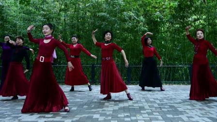 紫竹院杜老师舞蹈《女儿情》191004-0093