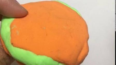 自制汉堡玩具视频