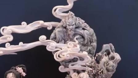 用翻糖做出中国古典美人, 周毅!
