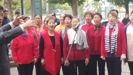 苹果派社区建党活动合唱《我和我的祖国》