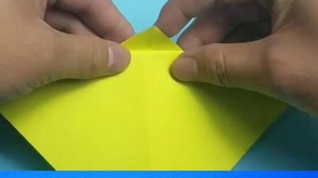 教你折纸香蕉,简单形象