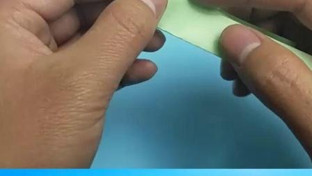 教你折纸小鸭子,简单形象