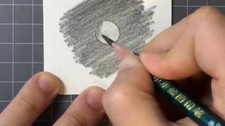 15秒教你画小水滴~#dou出新知 #画画 #手绘