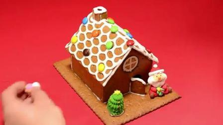DIY搭建姜饼屋,闪亮整个圣诞节