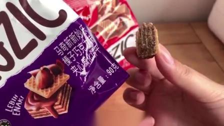 马来西亚香草巧克力榛子威化饼干