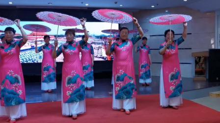 《泛水荷塘》安阳市春雨旗袍艺术团