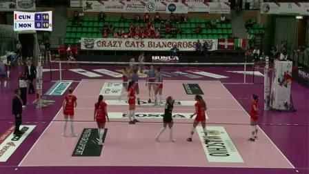 库内奥 3-1 蒙扎 - 2019/2020意大利女排联赛第3轮