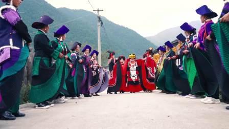 彝族结婚阿说尔铁和吉晓珍新婚上集