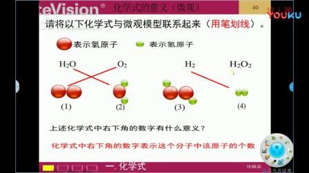 化学式与化合价——化学式的意义