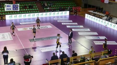 [全场] 布雷西亚 3-0 库内奥 - 20192020意大利女排联赛第4轮