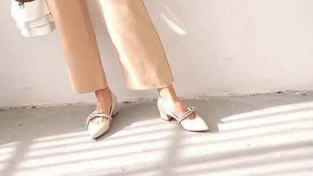 浅口套脚玛丽珍鞋,嘻哈一族最爱