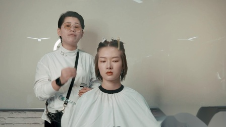 美发学习 汤尼盖发型  剪发进修视频