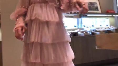 蛋糕蓬蓬裙,简约的宽松