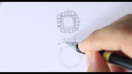 30【珠宝设计手绘入门】设计篇 -尖晶石戒指.mpg