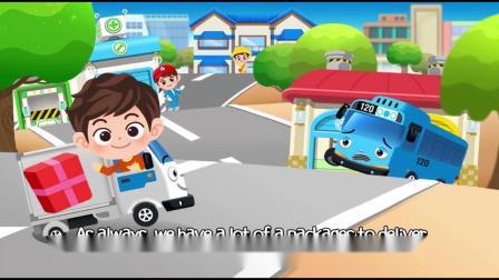 动画片,小巴士TAYO l  让我们一起送货 l 角色故事 9 l 小公交车太友