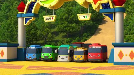 动画片,小巴士TAYO l 丛林探险 ver l 给孩子们的歌 l 流行的童谣