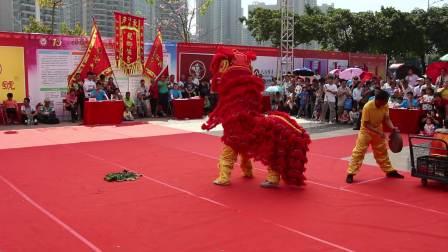 2019年清远市第一届狮王争霸赛  传统狮11 清城区飞来峡镇横石醒狮队 MVI_6272