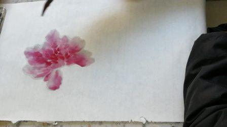刘振强老师授课视频~牡丹枝干画法与注意问题(20191104)