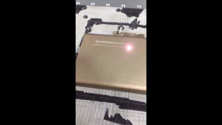 光纤激光打标机电子产品打标