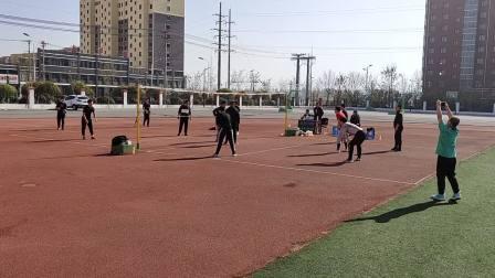 阜新市细河区高新区育才学校男教工排球友谊赛