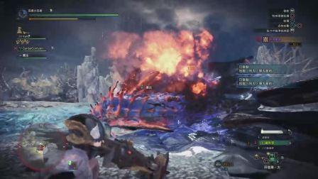 【空虚】PS4怪物猎人世界 冰原-扩散重弩-神赐台地