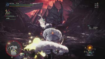 【空虚】PS4怪物猎人世界 冰原-属性重弩-历战银火龙