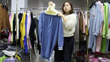 2019年最新精品女装批发服装批发时尚服饰时尚女士长款毛衣25件一份