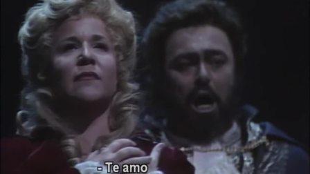 威尔第歌剧《假面舞会》1991年大都会歌剧院 主演:努奇、帕瓦罗蒂 指挥:詹姆斯.莱文 - Pavarotti, Nucci, Millo