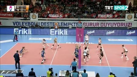 伊萨奇巴希 vs 费内巴切 - 2019/2020土耳其女排联赛第6轮