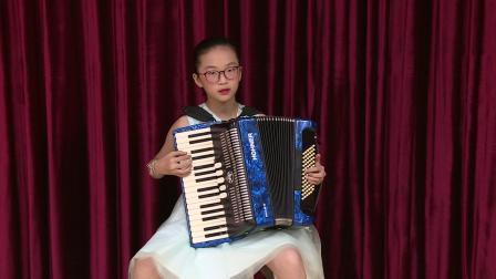 儿童C组  046 黎宝灿 《洋娃娃和小熊跳舞》深圳南山杯手风琴网络大赛