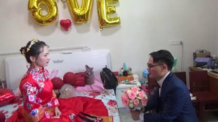 大利河喜庆之 王帆 隗文丽新婚庆典20191001