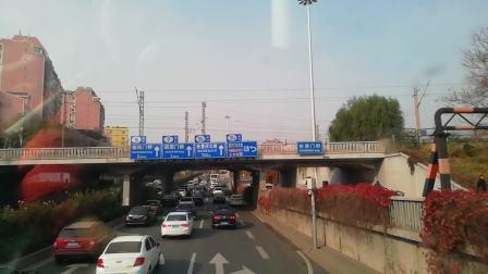 北京公交特12路外环、永定门长途汽车站—永定门长途汽车站、行走过程