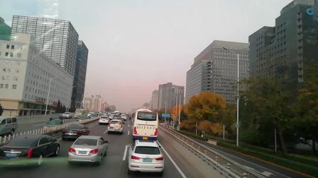 北京公交特12路内环、永定门长途汽车站—永定门长途汽车站、行走过程