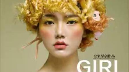 西安栗红强教育,西安金栗美容美发化妆学校,原创作品14