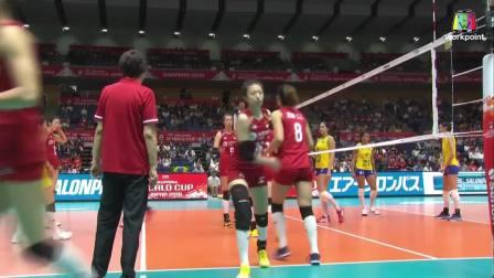 中国 vs 巴西 - 2019女排世界杯