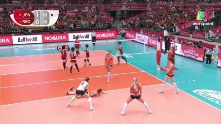 荷兰 vs 日本 - 2019女排世界杯