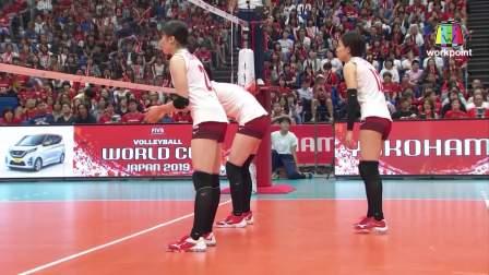 俄罗斯 vs 日本 - 2019女排世界杯
