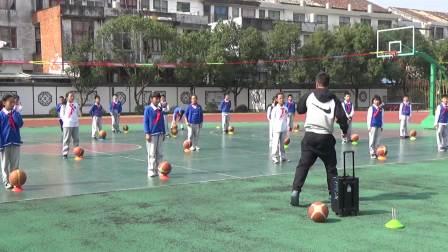 篮球运球+投篮练习方法2第三部分