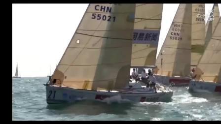激烈的帆船赛,海上无声的硝烟
