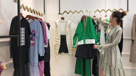 杭州一线高端品牌达拉达女装专柜实体店首选货源