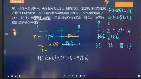秋季班小学六年级数学培训班勤思双师-赵设-第9讲