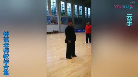 传统杨式太极拳85式钟谋老师教学合集_高清