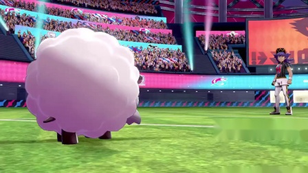 【3DM游戏网】玩家用毛辫羊通关《宝可梦:剑/盾》